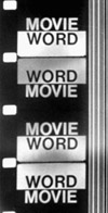 Word Movie / Fluxfilm n°29, Paul Sharits